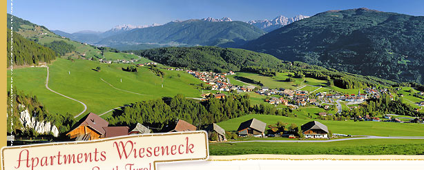 Apartments Wieseneck in Terenten South Tyrol